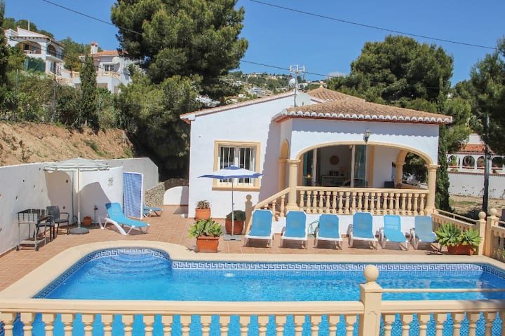 Hermosa - this lovely detached holiday property in Benissa