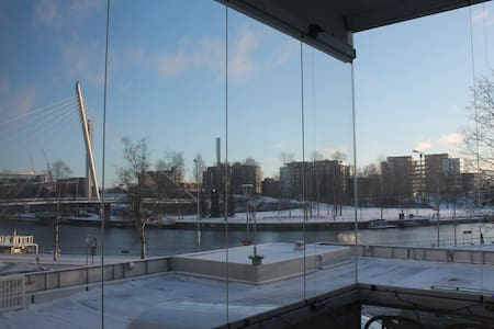 Breathtaking View from a Cozy Loft - Tampere - Wohnung