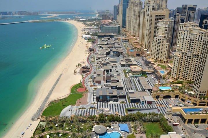 Live Next to world famous JBR Beach.