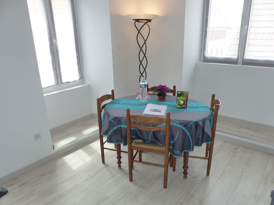 La table du salon