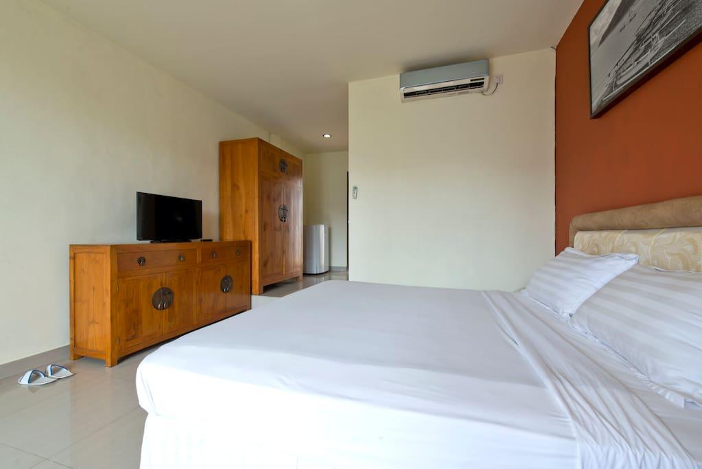 Spacious Single Queen Sized Bedroom