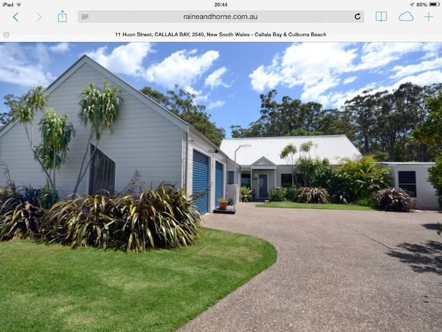 Jervis Bay hideaway (hosted accommodation)