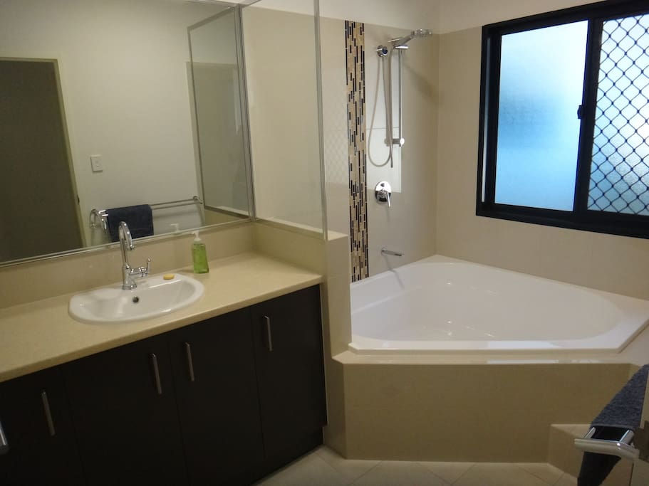 Your own bathroom: spa, shower, separate toilet.