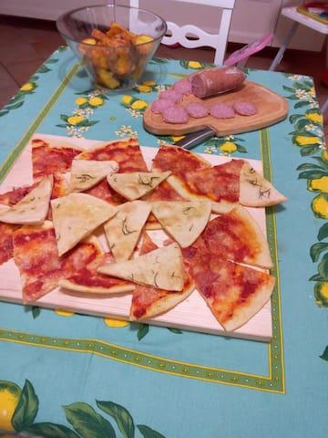 assaggiare la cucina tradizionale  - Polverigi - Leilighet
