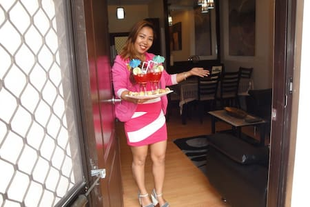 Furnished Large 2 Bedroom Condo - Davao City - Apartament