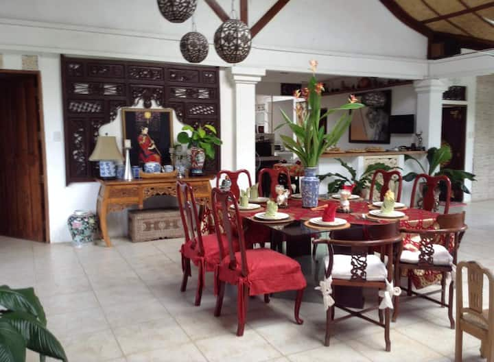 Room in a Balinese Inspired House