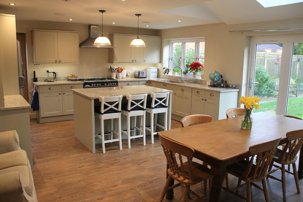 New kitchen fitted in 2016