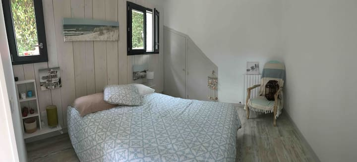 Jolie chambre privée, kitchenette,sdb,jardin,park