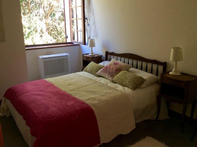 Double bedroom with double wardrobe