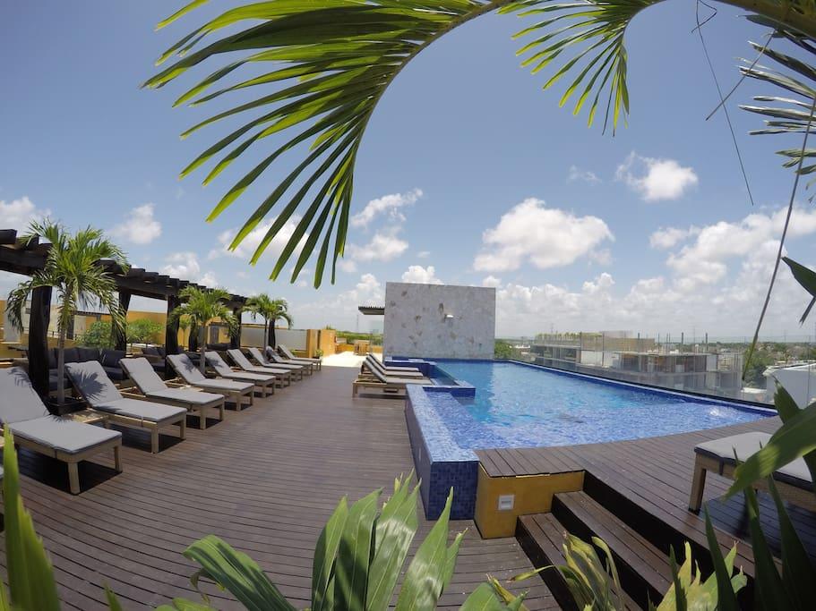 Swimming Pool Area / área Piscina