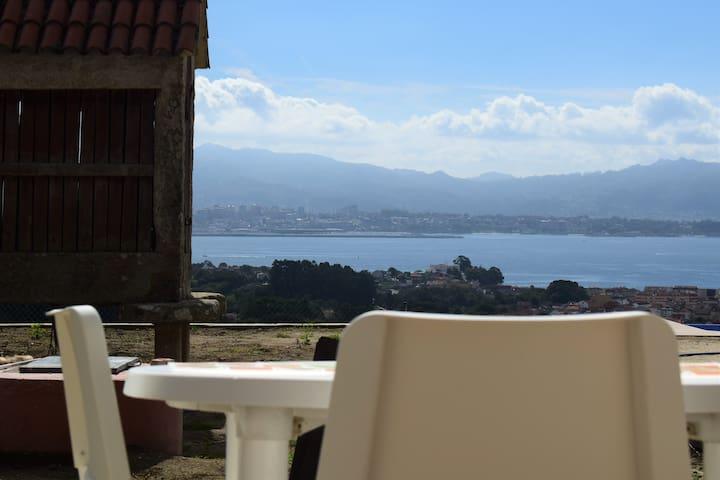 Pedra da Lan: una casita de piedra en Cangas-Vigo