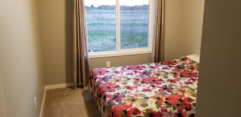 Edmonton home close to airport-Room 2 *No cooking*