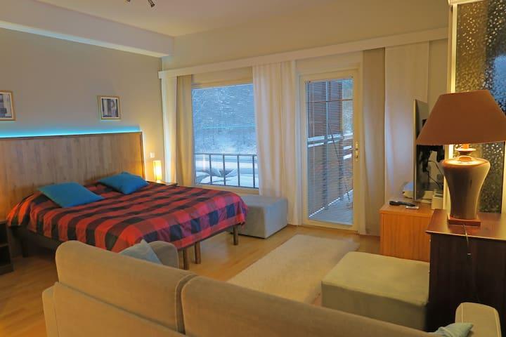 Apartment Tähtitahko, viihtyisä huoneisto palveluiden keskellä