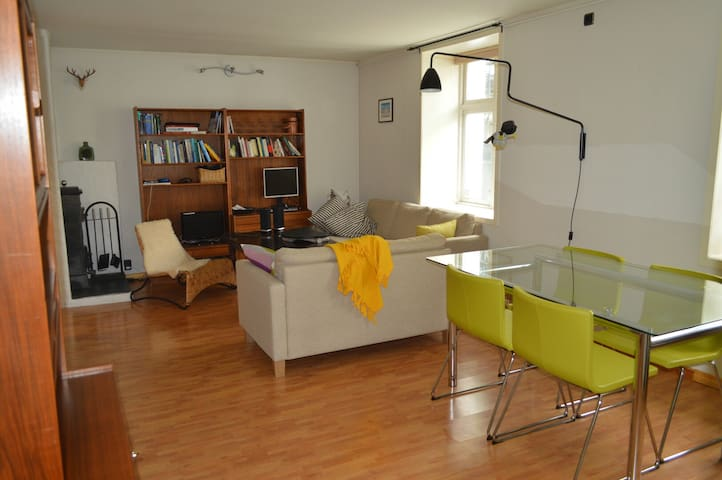 2-bedroom in downtown with parking - Берген - Квартира