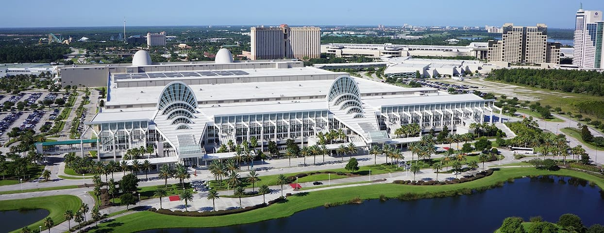 Orange County Convention Center of Orlando is 16 miles away