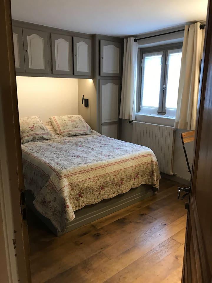 Chambre   aménagée au cœur du village de Megève