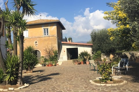 Loft panoramico in casale storico