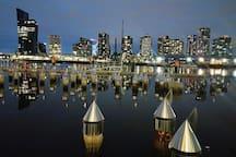 Docklands area