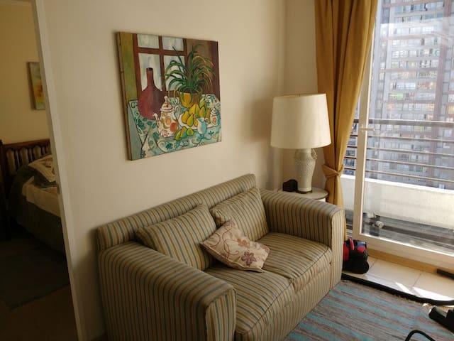 Departamente 1 dormitorio amoblado - Independencia - Huoneisto