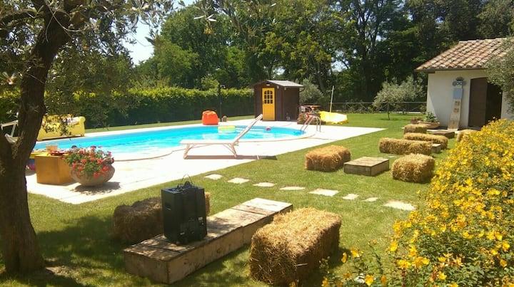 Gino's House ...... Relaxing just 5 min. da Gubbio