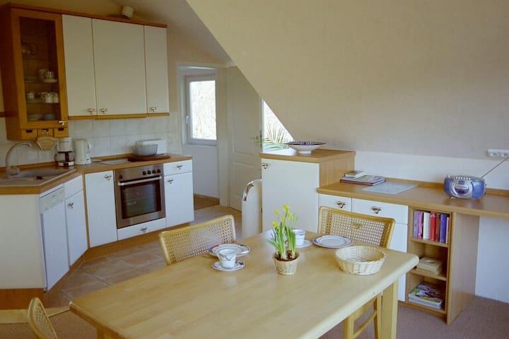 Ruhige Wohnung in idyllischer Lage in Travemünde - Lübeck - Appartement
