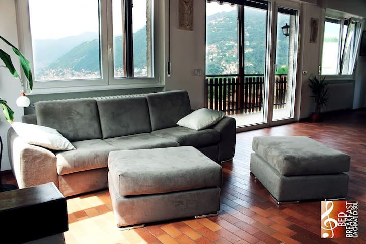 B&B with astonishing view of Como - Como - Bed & Breakfast