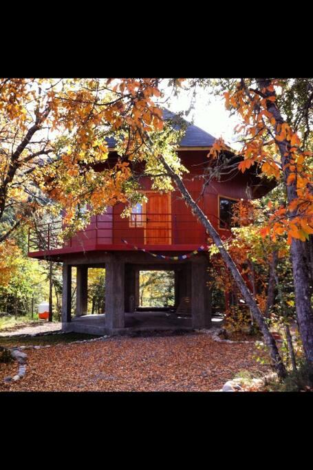 Ven a disfrutar del otoño en cabañas el Huemul ......