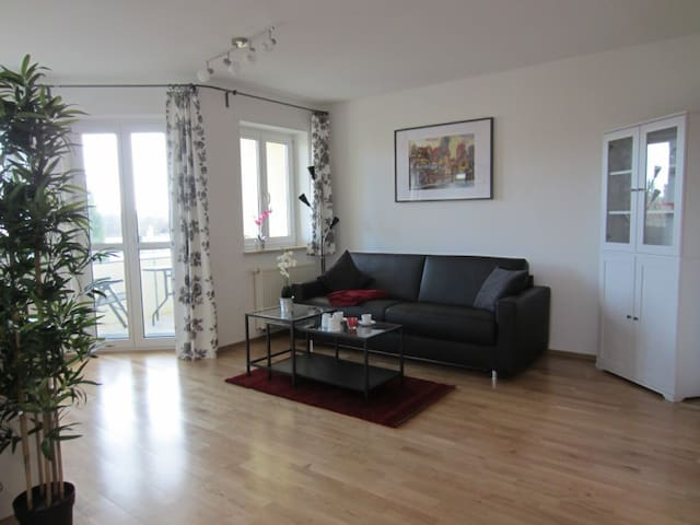 Modern-ruhig-zentral-WLAN-in DKB - Dinkelsbühl - Apartamento