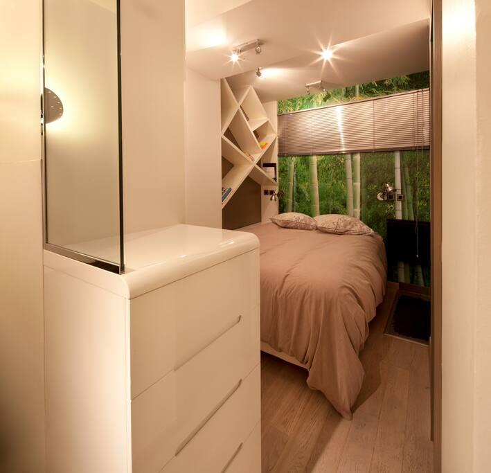 Cozy & confortable cocoon bedroom
