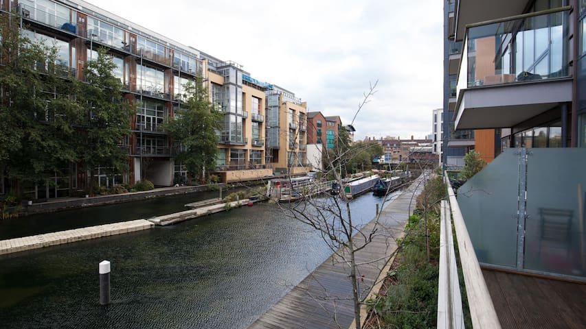 Canal Side Living | Large balcony | Haggerston