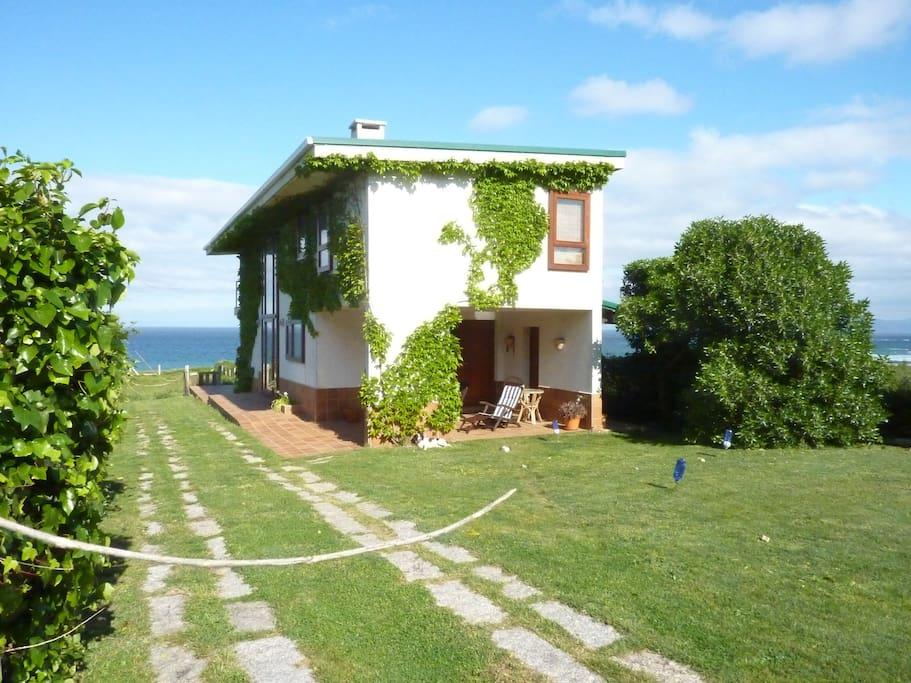 Casa corrubedo a pi de playa casas de campo en alquiler - Casas de campo en galicia ...