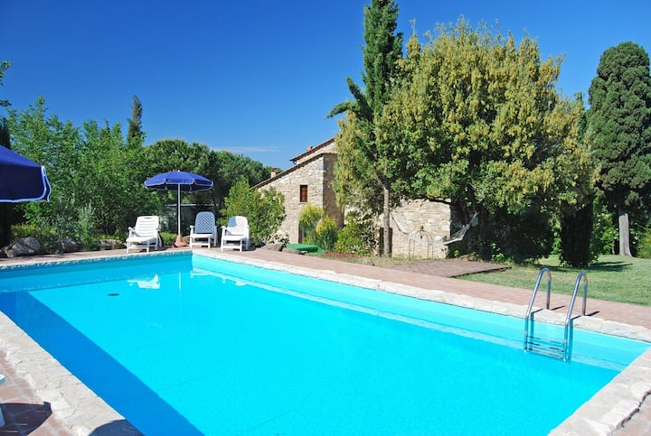 Farmhouse with private pool Vacavilla Exclusive