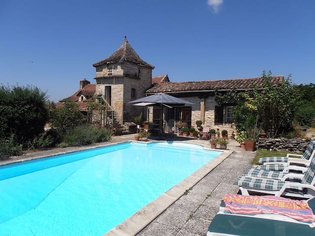 Perard Gite No 2 sleeping 4 people - Caylus - House