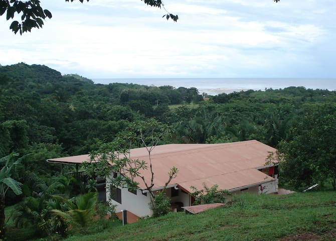 Jungle lodge on Costa Rica coast