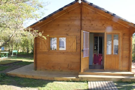 Chalet cosy à 30 mn de Bordeaux  - Aubiac - 牧人小屋