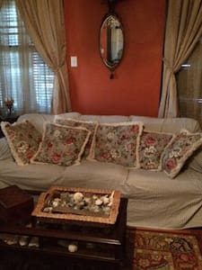 Front parlor with Hide a Bed - Galveston