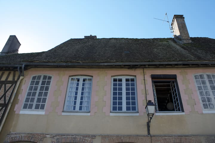 Charming Bourgogne family house - Mézilles - Talo