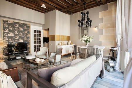 Sumptuous apartment in Paris