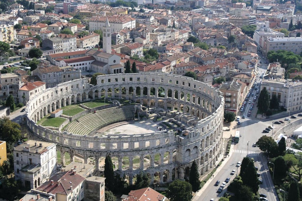 Arena - the biggest monument in Pula