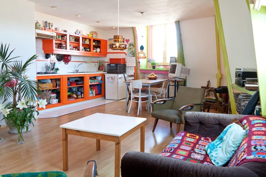 Cosy jordaan located apartment flats for rent in for Design apartment jordaan amsterdam