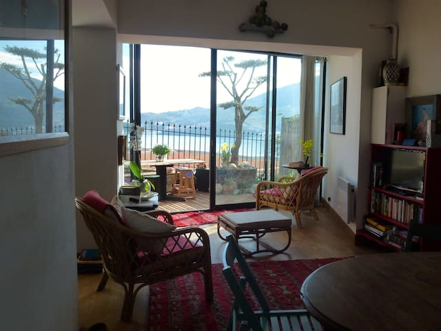 Garden apt with best view in PV