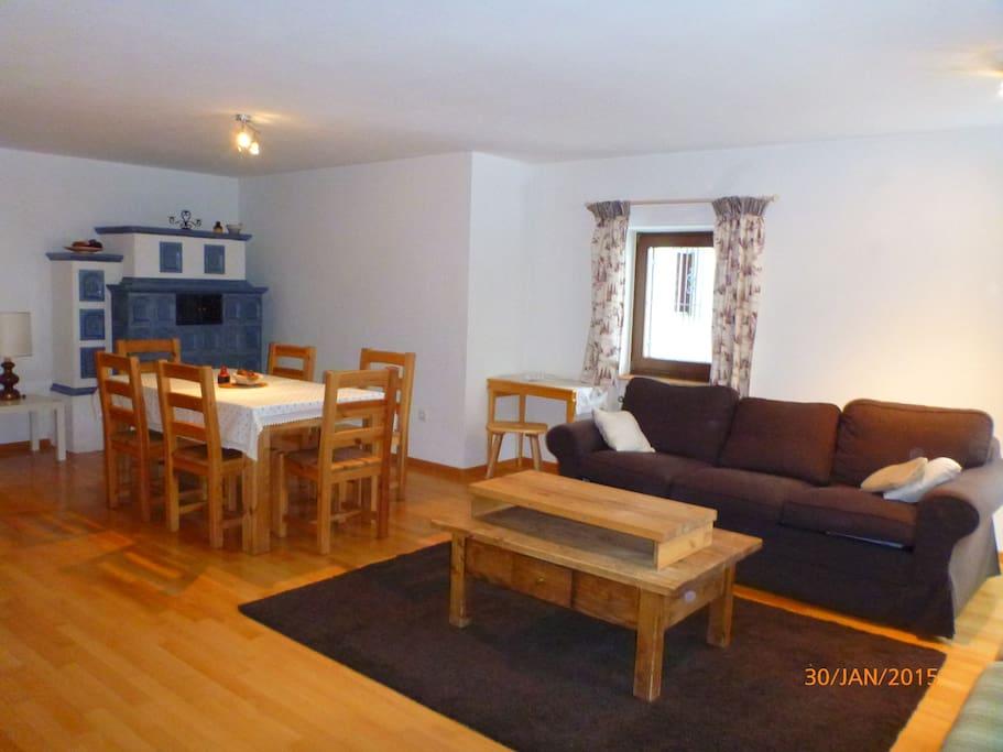 Appartamento 2 piani a selvagardena appartamenti in for Piani casa degli ospiti
