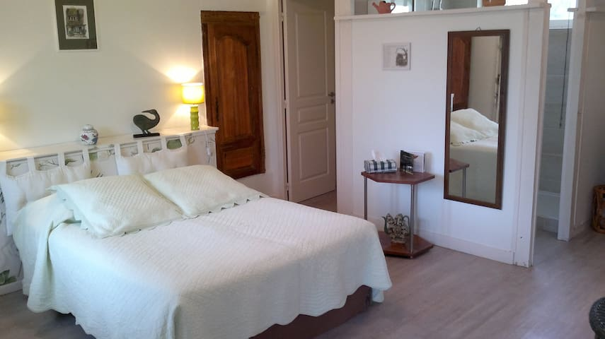 Les Marronniers chambre Houlgate - Cambremer - Bed & Breakfast