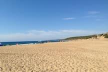 Spiaggia di Piscinas - Piscinas beach (40km)