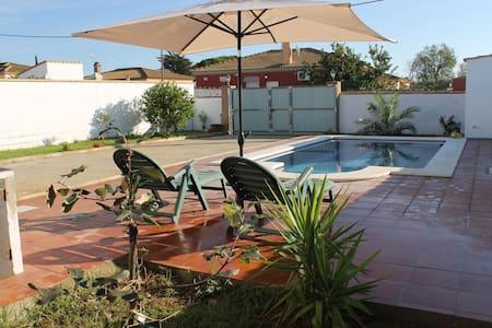 Villa Los Naranjos, piscine et clim - チクラーナ・デ・ラ・フロンテーラ