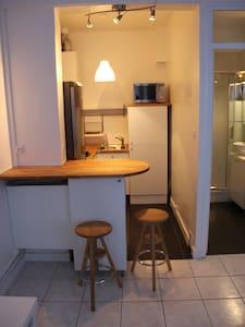 Grand studio tout confort à 15mn de Paris - Apartment