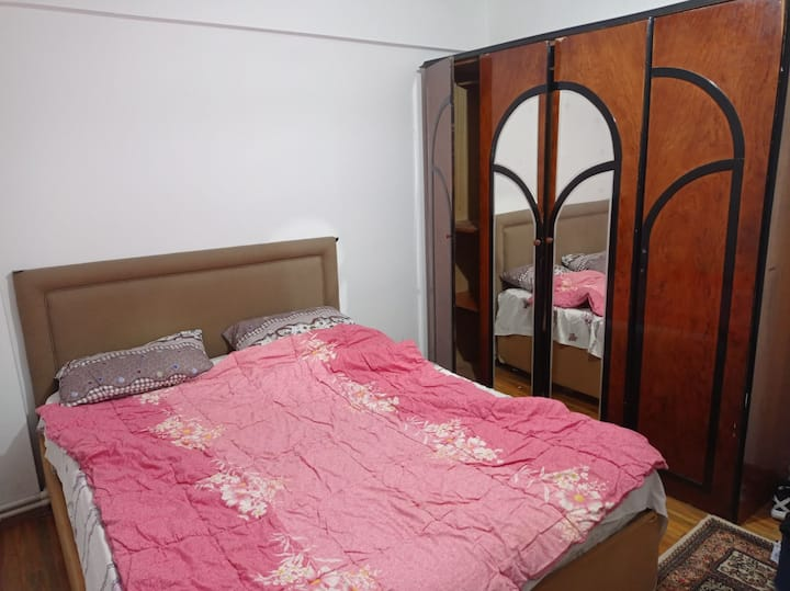 Comfortable room for 2 + balcony, great price