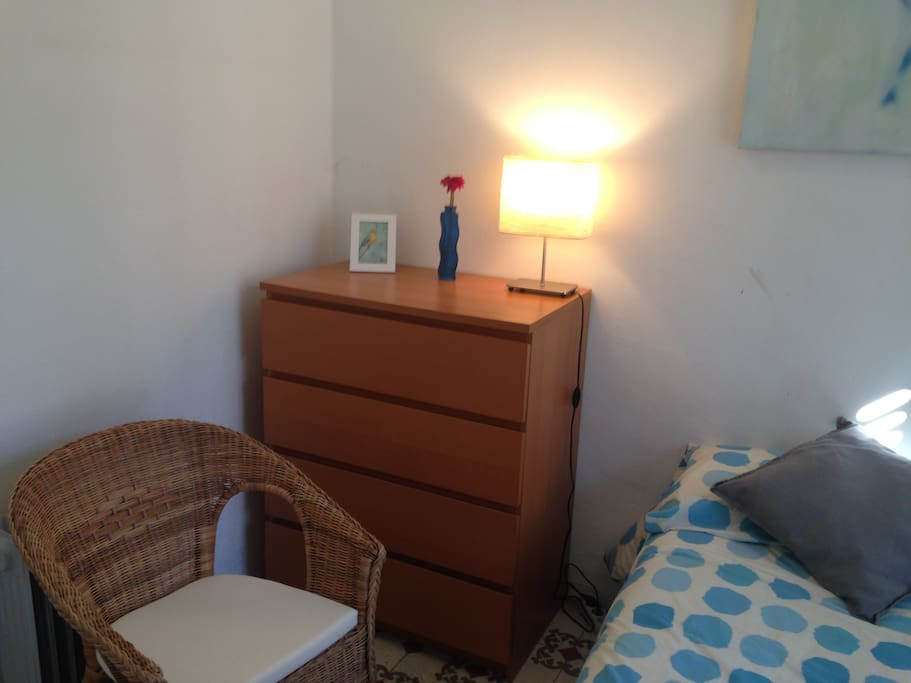 Lovely double room with balcony