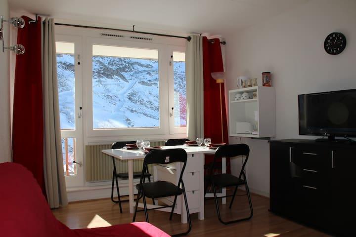 Studio au pied des pistes + Cellier - Bagnères-de-Bigorre - Leilighet