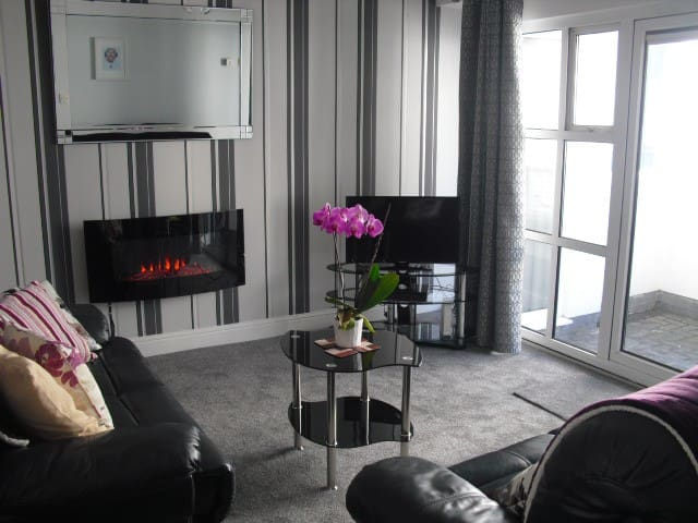 Bright and Spacious City Centre Apartment - Galway - Leilighet